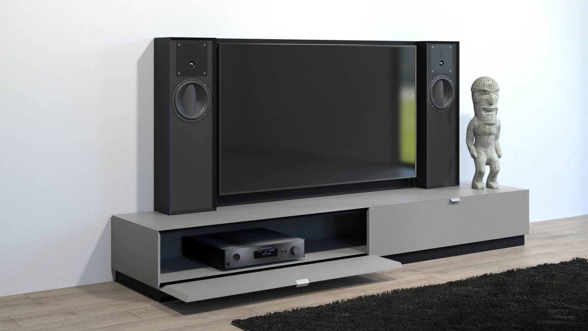 swisshd hifi tv m bel. Black Bedroom Furniture Sets. Home Design Ideas